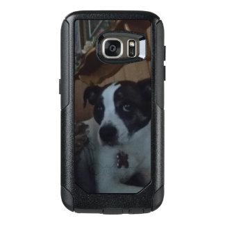 dog bella rolling eyes OtterBox samsung galaxy s7 case