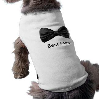 Dog Best Man Shirt Sleeveless Dog Shirt