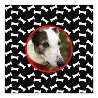 Dog Birthday Party  Custom Photo Card