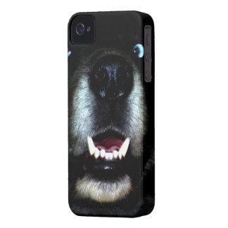Dog Black iPhone 4 Cases