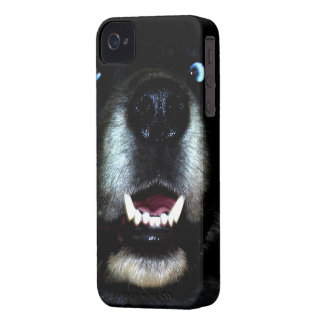 Dog Black iPhone 4 Cover