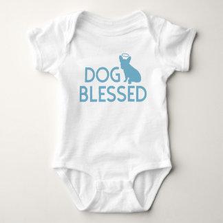 """Dog Blessed"" French Bulldog Angel Infant Crawler Baby Bodysuit"