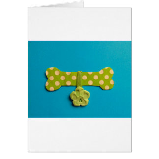 Dog Bone - A Greeting Card