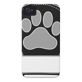 Dog Bone and Paw Case-Mate iPhone 4 Cases
