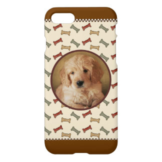 Dog Bone Custom Pet Photo Picture Frame iPhone 7 Case