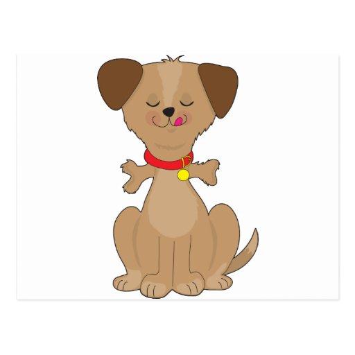 Dog Bone Post Card