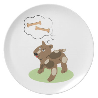 Dog Bones Party Plates