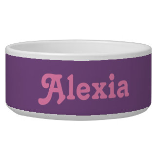 Dog Bowl Alexia