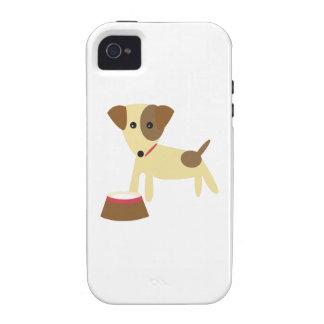 Dog & Bowl iPhone 4 Case