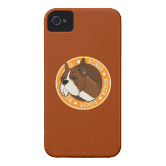 Dog Boxer iPhone 4 Case-Mate Cases