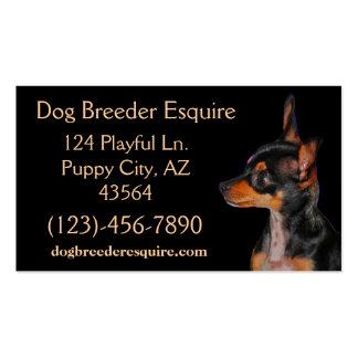 Dog Breeder Esquire Pack Of Standard Business Cards