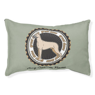 Dog Breeds Great Dane Personalized Name Pet Bed