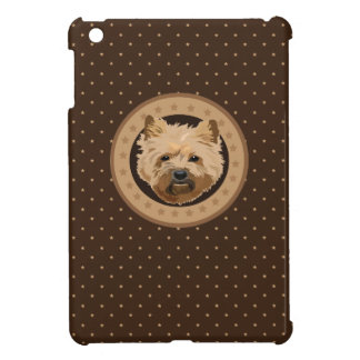 Dog cairn terrier iPad mini cover