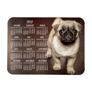 Dog calendar 2017 Photo Small Magnet 3x4