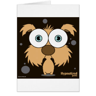 Dog Card, Standard white envelopes included Card