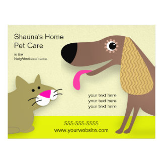 Dog Care Business Custom Flyer