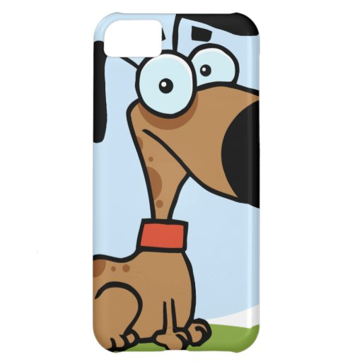 Dog cartoon character iPhone 5C case