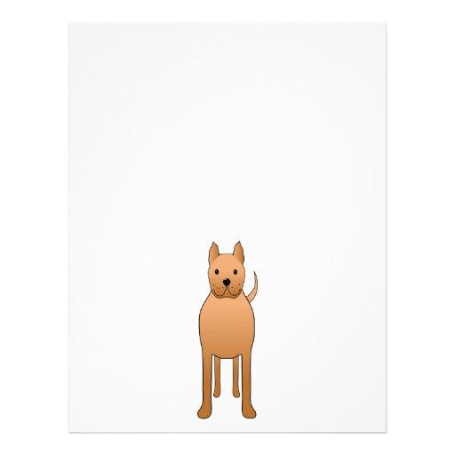 Dog Cartoon. Flyer
