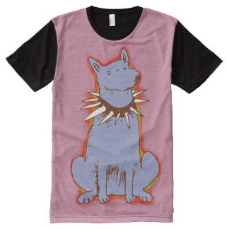 dog cartoon style popart illustration All-Over print T-Shirt