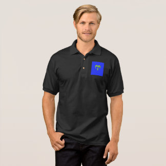 Dog & Cat Heart shaped Logo Polo Shirts
