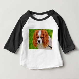 Dog Cavalier King Charles Spaniel Funny Pet Animal Baby T-Shirt