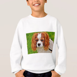 Dog Cavalier King Charles Spaniel Funny Pet Animal Sweatshirt