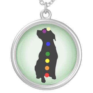 Dog Chakras necklace