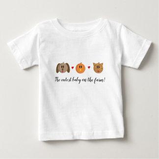 'Dog Chick Cat' Baby T-Shirt