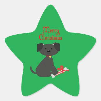Dog Christmas/Holiday Stickers