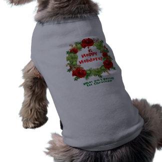 Dog Christmas Sweater Shirt