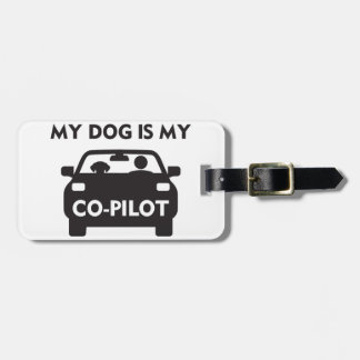 Dog Co-Pilot Luggage Tag