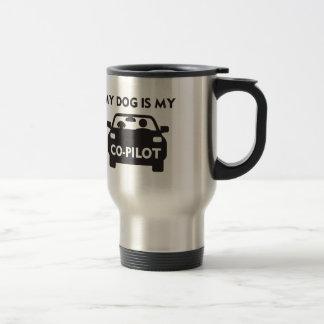 Dog Co-Pilot Travel Mug