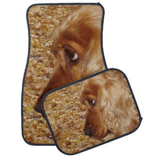 Dog Cocker Spaniel Car Mat