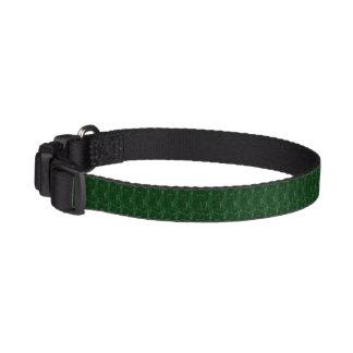 Dog collar - Beautiful green