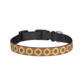 Dog Collar with Aztec Design