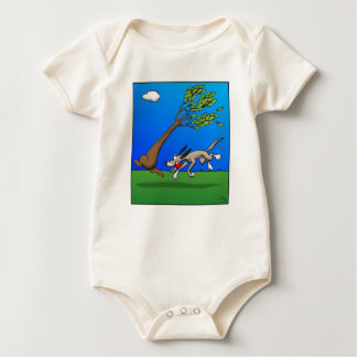 Dog Comic Baby Bodysuit