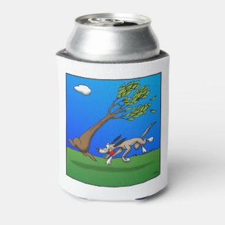 Dog Comic Can Cooler