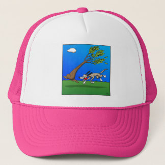 Dog Comic Trucker Hat