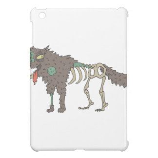Dog Creepy Zombie With Rotting Flesh Outlined Hand iPad Mini Cases