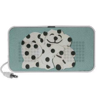 Dog Dalmation iPad iPhone Speaker