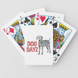 Dog Dayz Bicycle Playing Cards