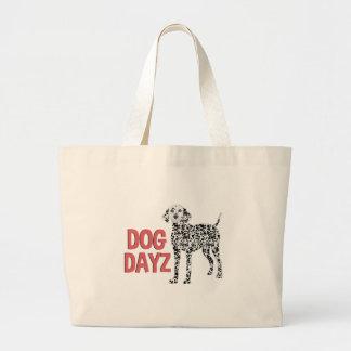 Dog Dayz Large Tote Bag