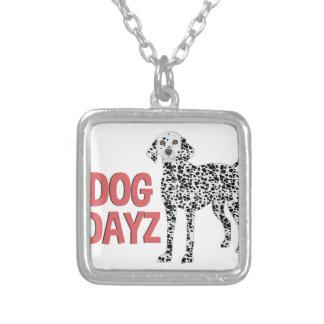 Dog Dayz Silver Plated Necklace