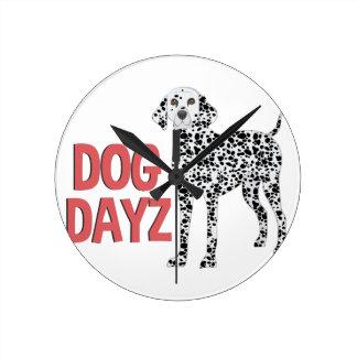 Dog Dayz Wallclocks