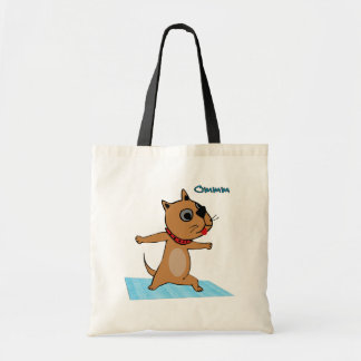 Dog Doing Yoga - Unique Yoga Gifts for Her Tote Bag