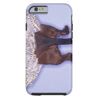 Dog dressed up tough iPhone 6 case