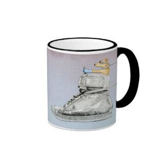 Dog Driving Shoe Mug