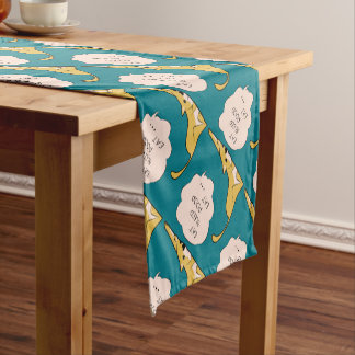 dog_eatsleeppoop short table runner