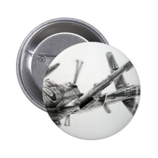 Dog Fight badge Pinback Buttons