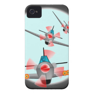 Dog Fight iPhone 4 Case-Mate Cases